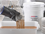 Flavorseal elastic netting products